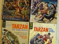 1960 - 70s Tarzan Of The Apes [Set of 4] Comic Books