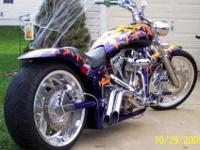 2003 Custom Iron Horse Slammer, custom with all the