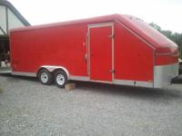 Selling my custom built 2011- 28' enclosed trailer. It
