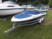 $28,495, MERCRUISER I/O 220HP ENGINE WITH ONLY 112
