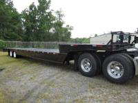 (5) 48? x 102? 35 Ton Trail-Eze Hydraulic Tail Trailer,