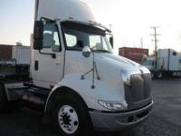 2006 I-H 8600 Tandem Axle Daycab Tractor. Mileage is