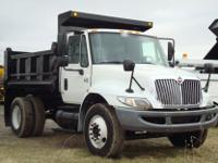 FOR SALE IS A SINGLE AXLE 2006 INTERNATIONAL 4300 DUMP