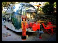 1966 Airstream Vintage Caravel 17' Baby Sized and