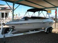 Open Bow, Bimini Top w/ Struts, 300 HP Mercruiser 350