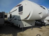 This new 2013 Winnebago fifth wheel is perfect for a