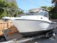 28' BOSTON WHALER 285 CONQUEST 2006ONLY 475 HOURS ON