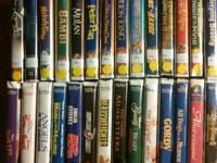 Here are 28 VHS motion pictures that are in great