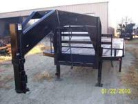 A one of a kind trailer!! 2010 Sure Pull, 28' Hydraulic