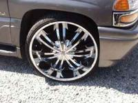 "FOR SALE 4-28"" LEXANI ROMAS WITH TIRES!!!!! TIRES AND"