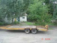 1978 28' Heavy Duty Tag A Long Trailer Hitch Type: