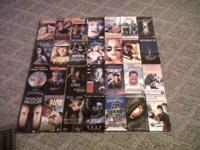 28 Movies $1 each or take all for $15 call or txt . *A
