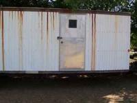I have a 28'x8' Single Axle Construction trailer with