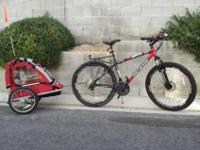 I have a new Genesis 29'er and child trailer. Bought