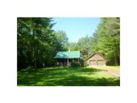 1305 SF, 3 bedroom, 2 bathroom log cabin style house
