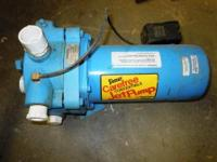 2810e-01 3/4hp Simer Jet Pump Bought for a pond and
