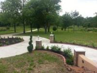 Exquisite New Construction on 3.8 Acres. One Level,
