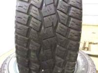 285-60-18 toyos lots of tread left great shape come