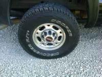 Brand new set of tires 285/70/16, they have 250 miles