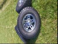 285/75 Radial Trailcutters on 16 inch 8 lug 6.5 pattern