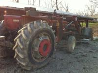 85 HP tractor in great working condition. 7' wide front