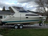 This boat has been well maintained and includes a newer
