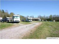 RV park located on 190 acres of land with abundant