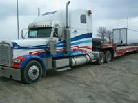 2001 Freightliner Classic, super nice unit, large 84""