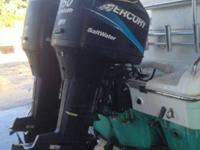 I have a 2003 sea pro 255 cc with twin mercury 150hp