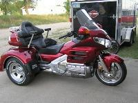 I'm selling a 2008 Honda Goldwing Trike. This is a new