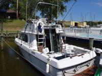 Please call owner Tim at . Boat is in Chesapeake Beach,