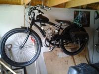 "29"" 2cycle Motor Bike all tricked out. 50cc , 100 MPG ,"