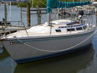 1984 30' CATALINA C30 MARK 1. In good condition with