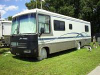 This well-maintained Class A motorhome is ideal for