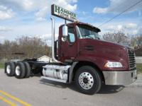 2004 Mack CX613 Tandem Axle Daycab, E-7 Mack Engine,