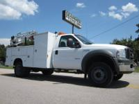 2005 Ford F-550 XL SD 44 11? Utility/Lube/ Service