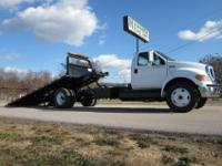 "Ford F-650 21' x 100"" Rollback, 2005, C-7 CAT, 187K"