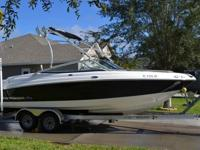 PRICE REDUCED!! 2009 20' CHAPARRAL 204SSI bowrider for