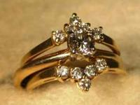 Stock #32 This beautiful diamond solitaire ring is a