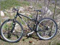 2010 Gary Fisher Ferrous Hard-tail mountain bike for