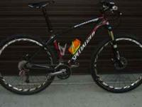 2010 Specialized 29er. 122 miles Like new condition