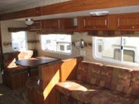Offering a 2006 Skyline Nomad Travel Trailer. In