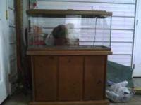 For sale a 29 gallon fish or reptile tank. We used to