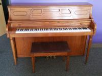 "$29 per month ""Oak Project"" piano rentals for qualified"