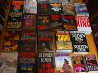 Selling my Stephen King book collection. All books are