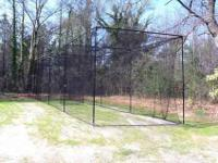 Baseball softball little league batting cage netting