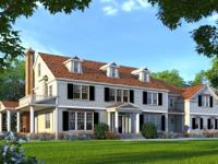 Beautiful colonial home under construction by award