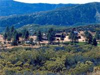 This 100 plus acre ranch is set high on a hill,