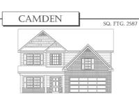 The Camden floor plan! The Camden floor plan. Spacious,