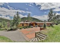 Beautiful, custom, luxury home sitting on 10 acres just
